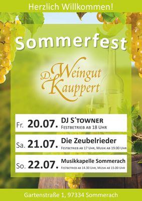 2018 Weinfest Weingut D. Kauppert